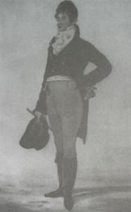 Zwolennik powrotu do prostoty stroju, George Bryan Beau Brummel