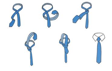 Węzeł prosty (four-in-hand)